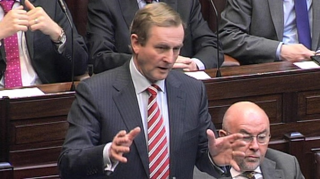 Mr Kenny said waivers would be given to householders who cannot afford to pay