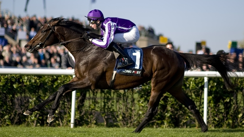 Camelot, who won the Newmarket 2000 Guineas and Irish and English Derbys, makes his seasonal debut at the Curragh on Monday