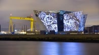 You can walk out to the Titanic Quarter from Belfast city centre in less than 20 minutes