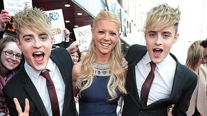 Jedward with Tara Reid: we're gonna need a bigger boat