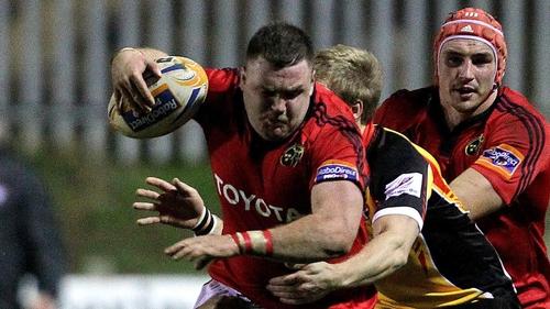 Prop Dave Kilcoyne gets his first start for Munster against Scarlets