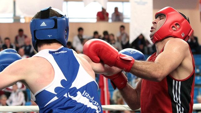 The Wexford man beat Romanian Ionut Gheorghe in the welterweight semi-finals