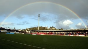 A Brexit rainbow for the Brandywell?