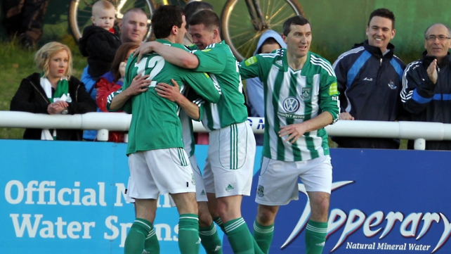 Bray have defeated Shelbourne twice this season already