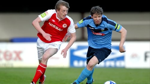 St Patrick's Athletic midfielder Chris Forrester is in the Irish squad