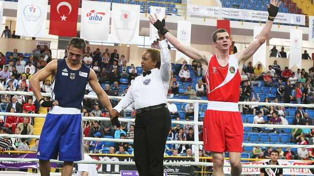 Adam Nolan won a dramatic encounter against Patrick Wojcicki in Trabzon