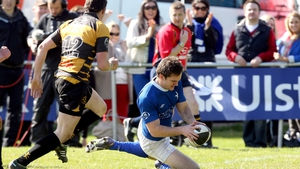 Mark Sexton scored two tries as St Mary's defeated Young Munster to win the Ulster Bank League
