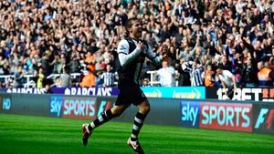 Yohan Cabaye struck twice for Newcastle United