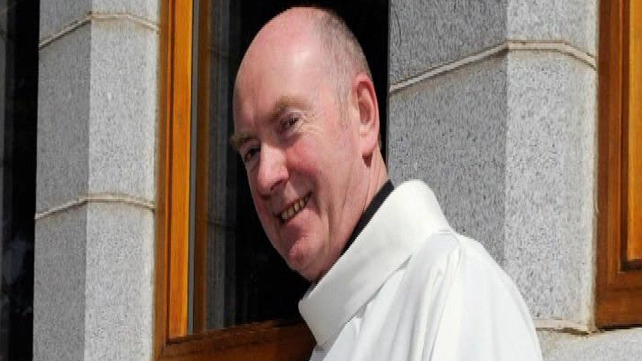 Father Martin McVeigh said he did not know how the images had appeared