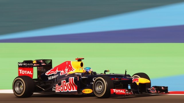 Sebastian Vettel's Red Bull came out on top in the Bahrain GP