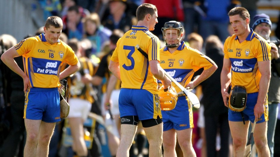 The faces on the Clare players at the end says it all