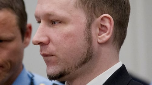 """Breivik said in court today: """"To all of those ... I want to say I am deeply sorry for what happened."""""""