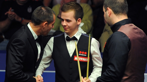 Brecel can be pleased with his maiden performance at the Crucible