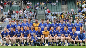 Wicklow hurlers pictured before a Christy Ring Cup match last year