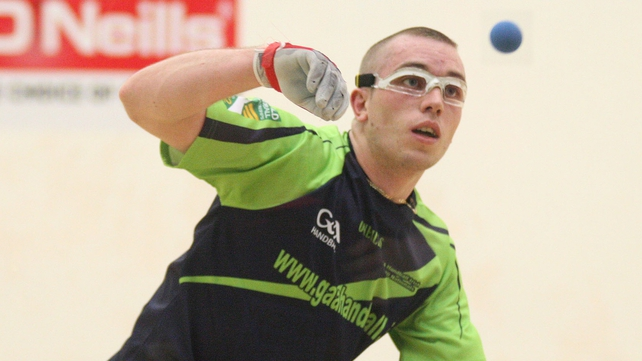 Robbie McCarthy claimed back-to-back Men's Open Singles titles