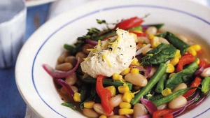Summer White Bean and Vegetable Stew