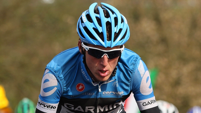 Dan Martin is in sixth place in the  Tour de Suisse