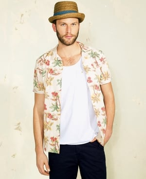 This laid-back, surfer/festival look from Burton is typical of the trend this Summer (€24)