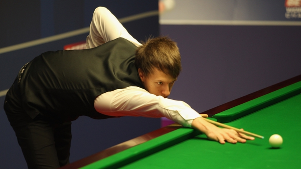 Judd Trump will face Ali Carter or Mark Davis in the second round on Saturday
