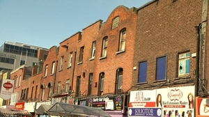 Numbers 14 to 17 Moore Street received a preservation order in 2007