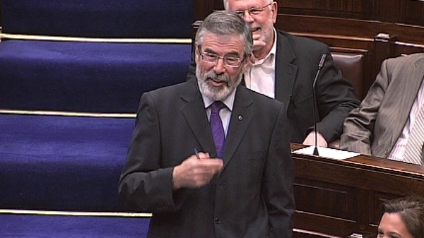 Gerry Adams called for debate on kind of Ireland people want to see in 21st Century