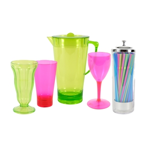 Cutlery and tumblers, Heatons, from €1.75