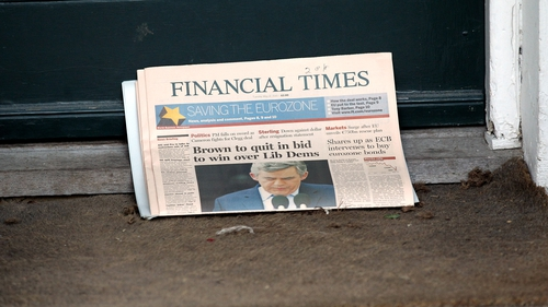 Financial Times owner Pearson sees  higher restructuring costs