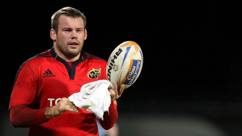 Denis Fogarty will leave Munster for Aurillac when the season ends