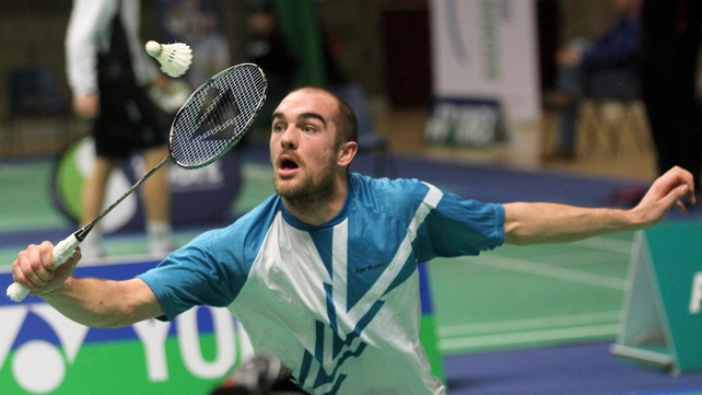 Scott Evans is now assured of his place at London 2012