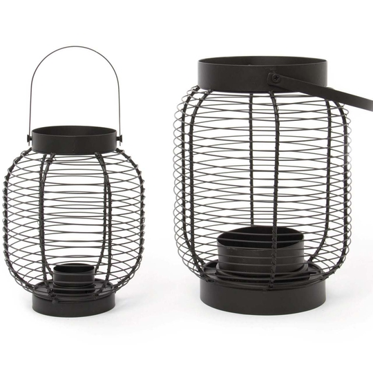 Mesh lantern, Dunnes Stores, Small €15, Large €25