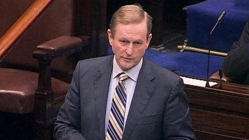 Enda Kenny said a Yes vote would mean further confidence which in turns means more jobs