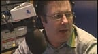 Gerry Ryan hosting his radio show.