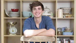 Donal Skehan spoke about food photography and his kitchenalia
