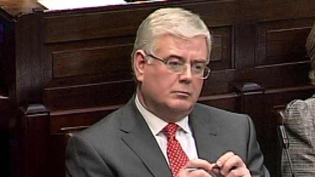 Eamon Gilmore said elections in Europe could be 'very helpful' for Ireland