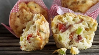 Pizza Muffins - This recipe is a real crowd pleaser with kids and adults alike from Rozanne Stevens.