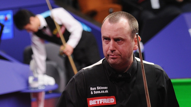 Mark Williams saw off the challenge of Liu Chuang