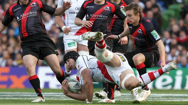 Stephen Ferris was outstanding, once again, for Ulster