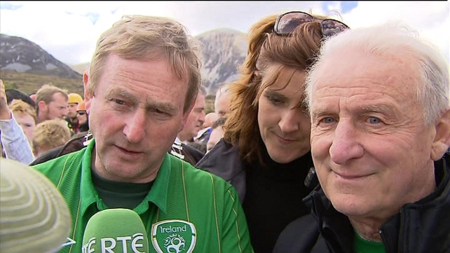 Giovanni Trapattoni described Croagh Patrick as a 'special place'