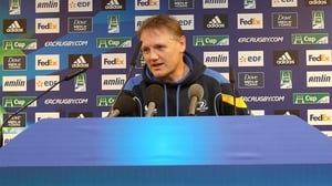 Joe Schmidt can afford to rest several players against the Dragons