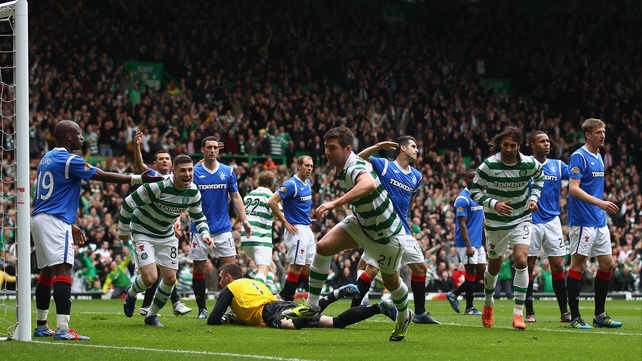 Charlie Mulgrew - 'Scoring against Rangers was the one thing I hadn't done, it was always in the back of my mind, and to do it was massive'