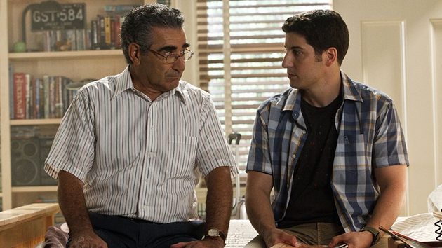 Eugene Levy is, as ever, excellent as Jim's dad