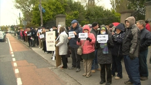 The vigil was organised by We Are Church Ireland, which is seeking reform in the Catholic Church