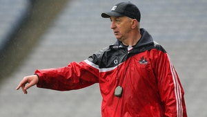 Cork boss Conor Counihan directing from the touchline