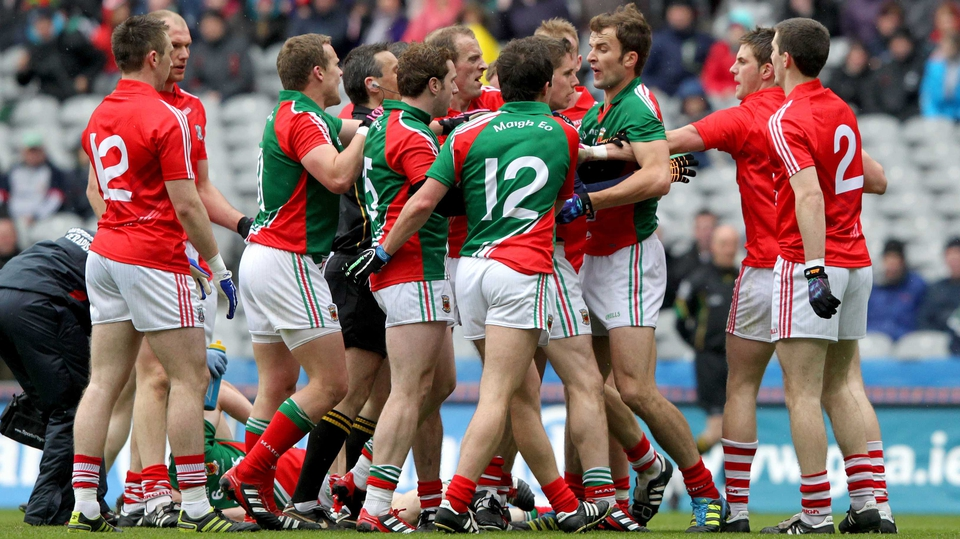 It wouldn't be a Croke Park final without a bit of passion shown from both sides