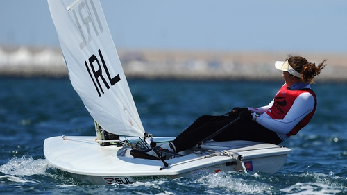 Annalise Murphy enjoyed a win and a second place on Day Two in Germany