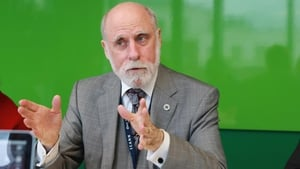 Vint Cerf, who helped develop the technology that made the internet possible, was in Dublin last week