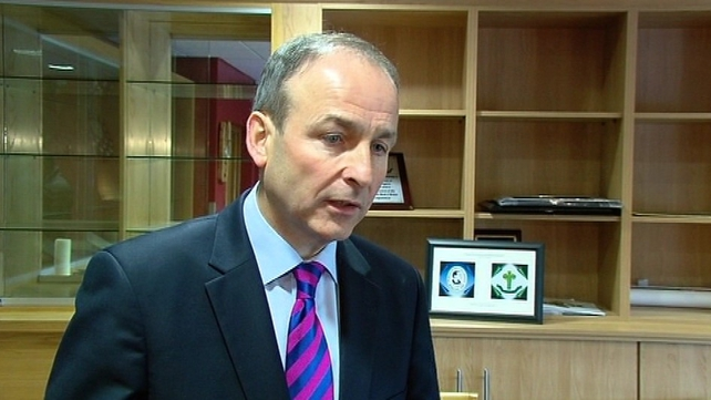 Micheál Martin said his party will be supporting the fiscal treaty
