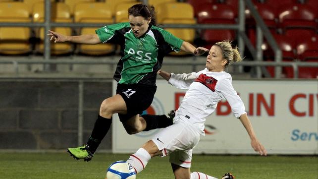 Sara Lawlor has been named as the Bus Éireann National Women's League Players' Player of the Season