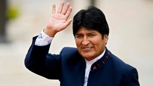 Evo Morales said the decision was based on the company's 'weak investment' in the past five years