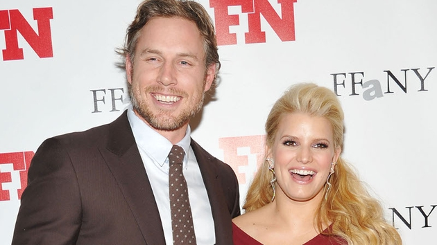Johnson and Simpson welcome baby boy Ace Knute